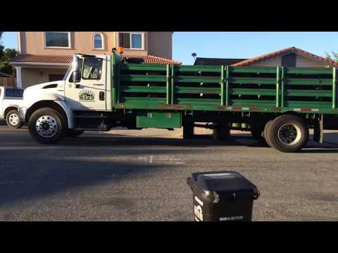 Garden City Sanitation Cart Delivery Truck