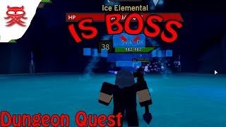 IS BOSSEN - Dungeon Quest - Dansk Roblox