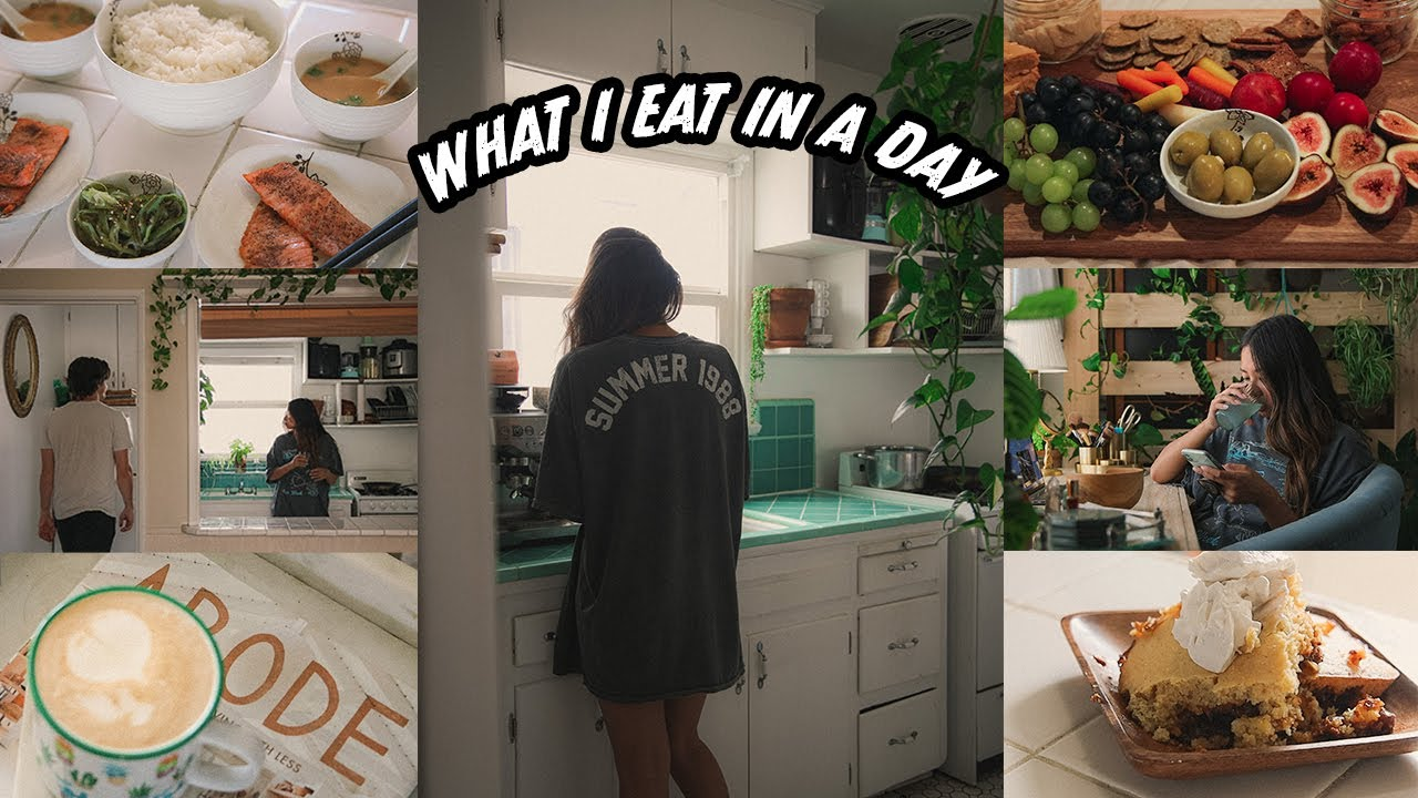what i eat on a lazy day at home