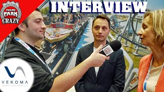 Vekoma EXCLUSIVE Interview - Theme Park Crazy