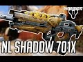 Destiny - NL Shadow 701X Year 2 Legendary Scout Rifle -  Crucible Gameplay Review