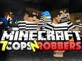 Minecraft Cops and Robbers 7 - DERP!! (Sky, Jerome, Husky and Deadlox)