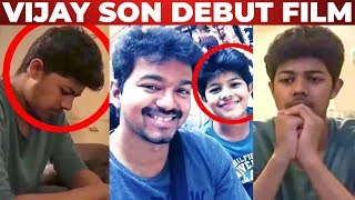 WOW: Thalapathy Vijay Son SANJAY First Short Film | Junction