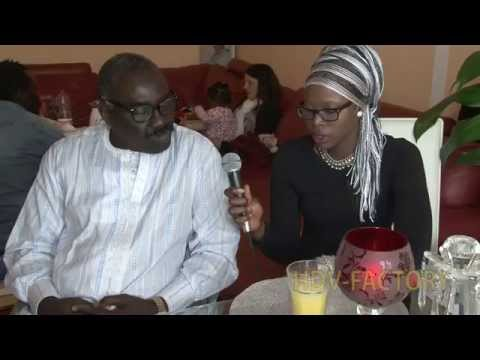 Mr. Thiendou Cissé - President de l'association des Senegalais de München