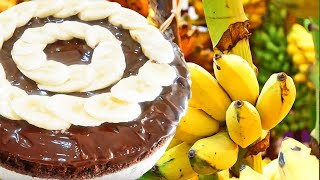 Homemade Chocolate and Banana Cake Recipe
