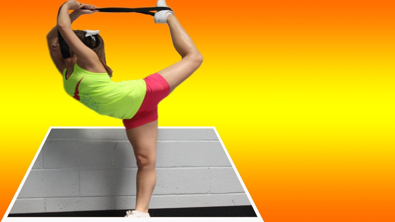 cheerleading stretches for your cheer scorpion how to