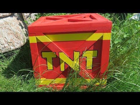 DIY  life size Crash Bandicoot TNT Crate