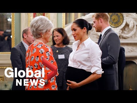 Meghan Markle and Prince Harry attend armed forces charity awards in England
