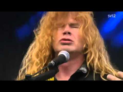 The Big 4 - Megadeth - In My Darkest Hour Live Sweden July 3 2011 HD