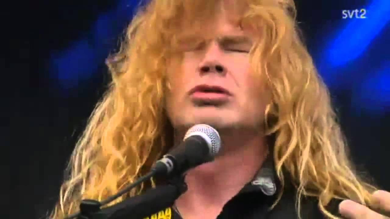 Download The Big 4 - Megadeth - In My Darkest Hour Live Sweden July 3 2011 HD