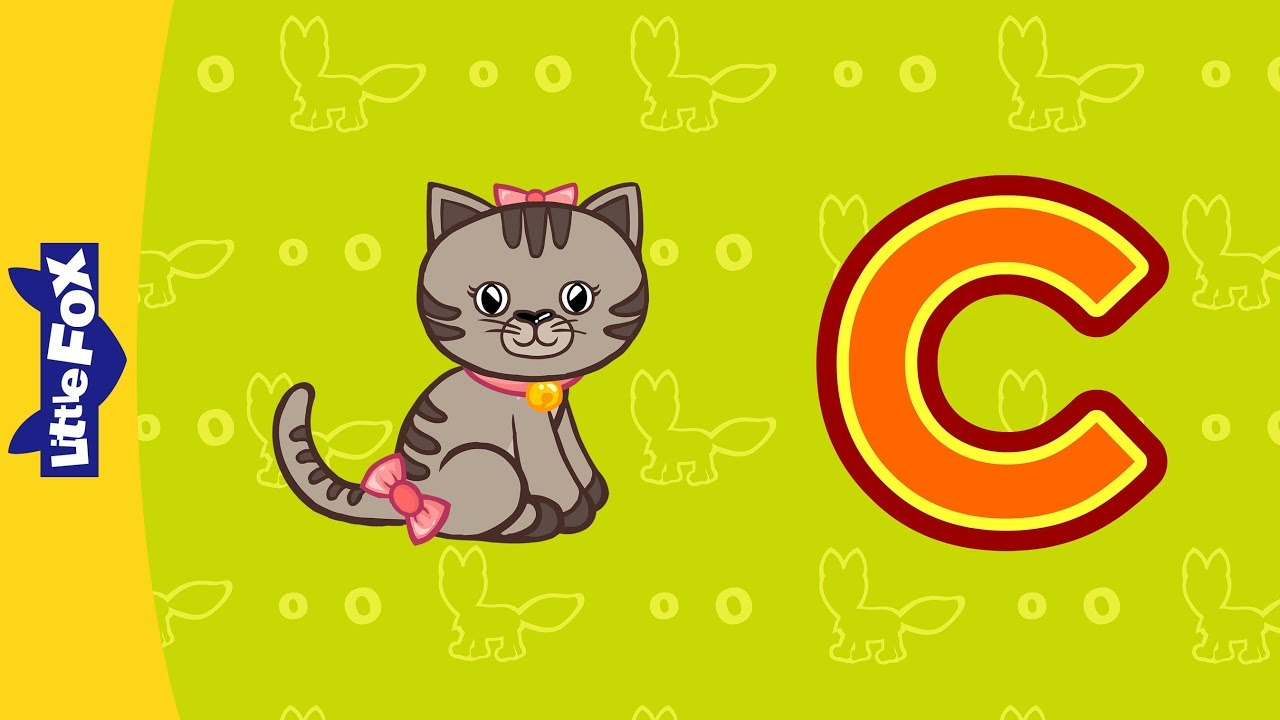 Letter C | Phonics Songs | Little Fox | Animated Songs for Kids - YouTube