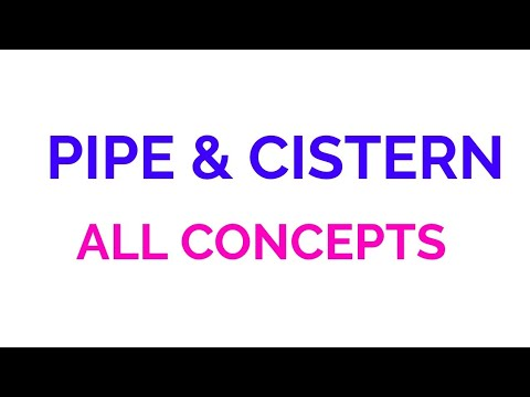 PIPE AND CISTERN FOR SSC