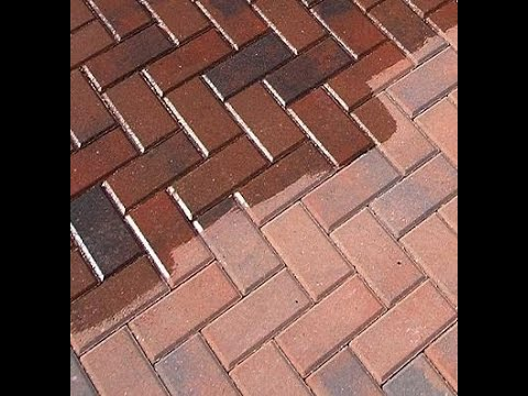 Block Paving Sealer To Coloured Paving Block Patio And