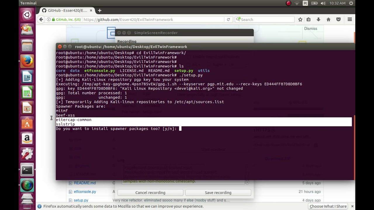 EvilTwinFramework: A Framework written in Python 2 for Pentesters to