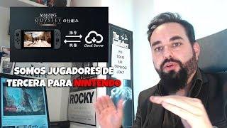 SOMOS JUGADORES DE TERCERA para Nintendo lanzando Assassin´s Creed Odyssey cloud version en Japón