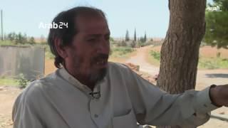 عائلة سورية تعيش الدمار الذي خلفه داعش في قريتهم