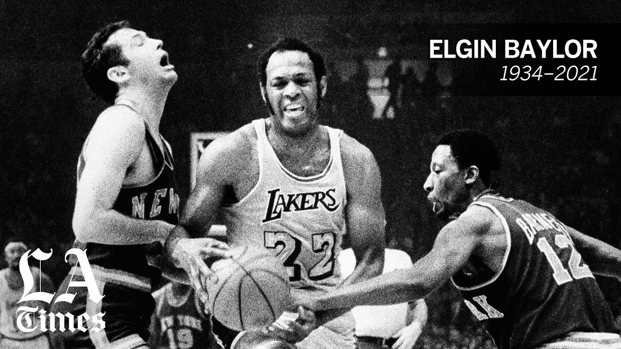 Elgin Baylor, Lakers Hall of Famer and NBA great, dies at 86