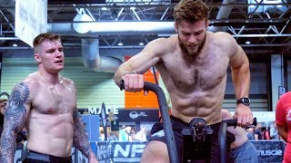 CrossFit Athletes take on Gym Functional Fitness Champions