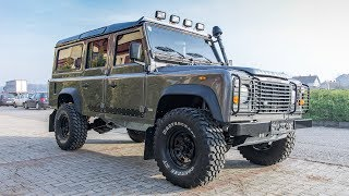 LAND ROVER DEFENDER RESTORATION and REBUILD