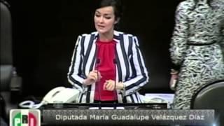 Dip. María Velázquez (PRI) - Ley de Caminos, Puentes y Autotransporte Federal
