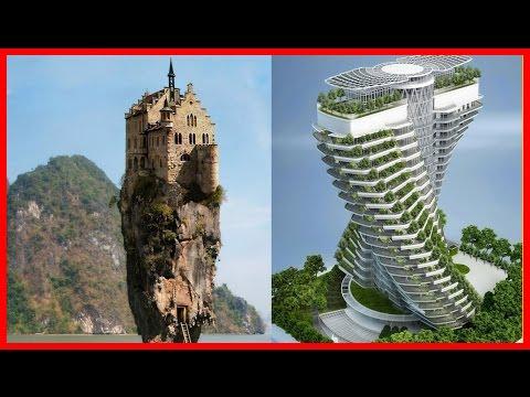 10 Невероятных Архитектурных