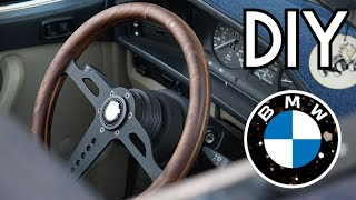 Making a Steering Wheel From Scratch (DIY time-lapse) [BMW e28]