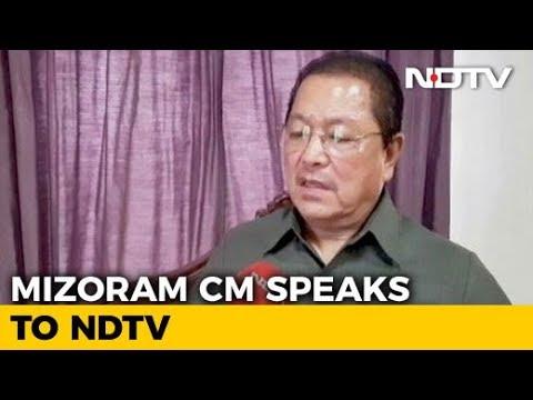 de1448c12f2 Rahul Gandhi Not A  Willing Politician   Mizoram Chief Minister ...