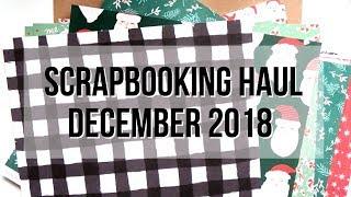 Scrapbook.com Haul!! Lots of Crate Paper Collections   Serena Bee Creative