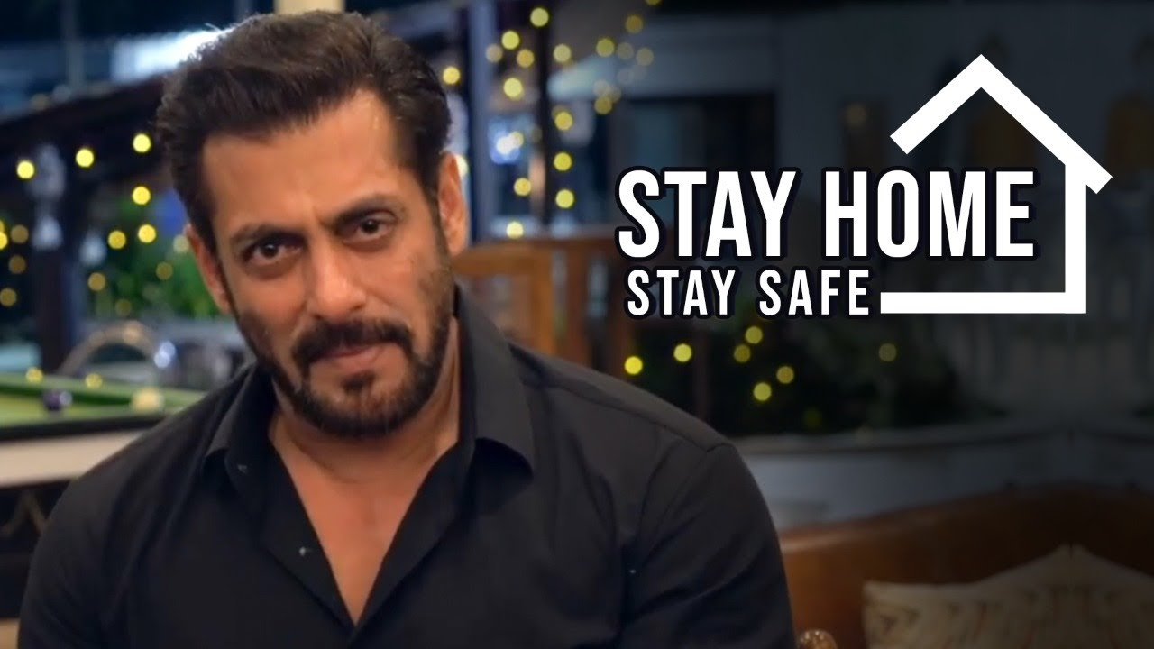 Stay Home & Stay Safe | Salman Khan