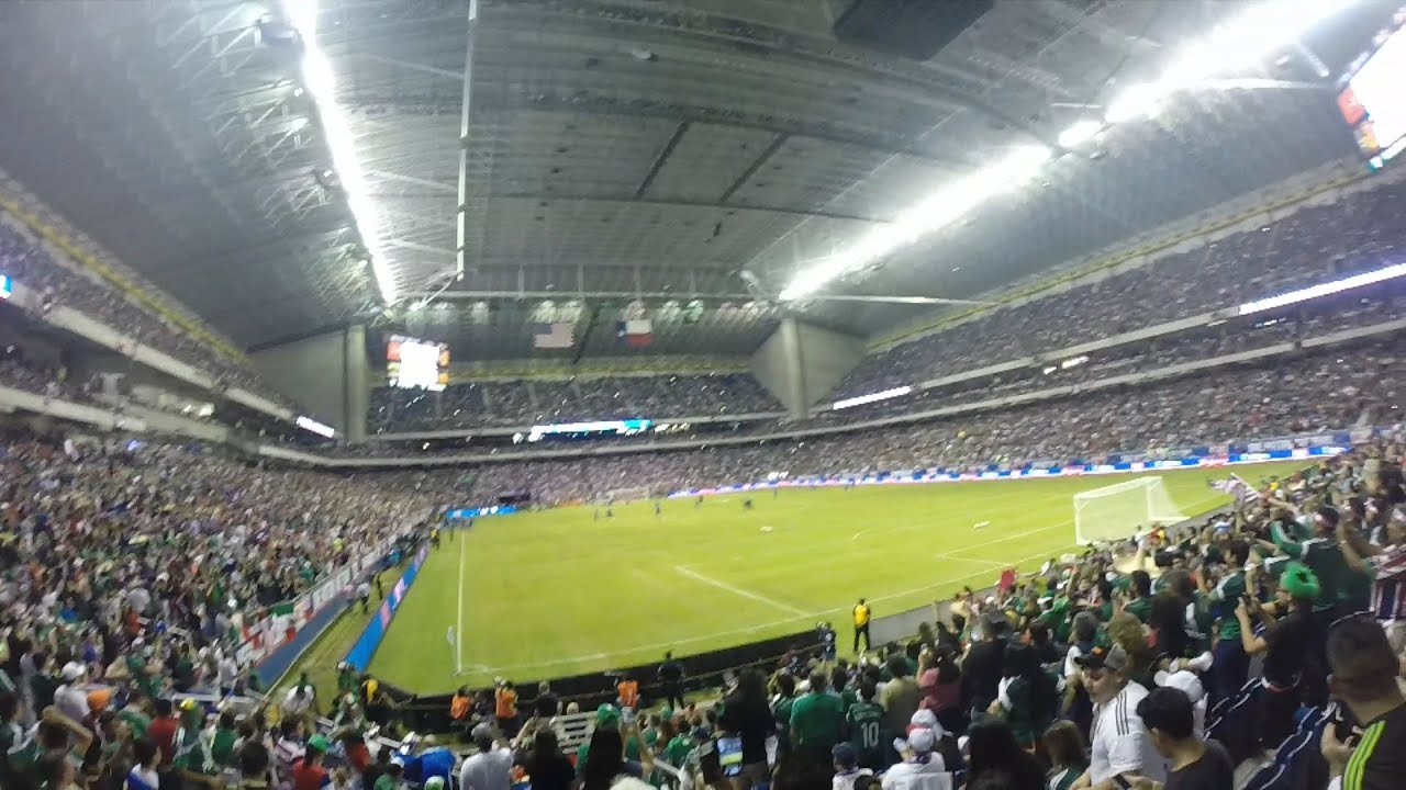 San Antonio soccer fans packed the Alamodome to watch Mexico vs. Argentina