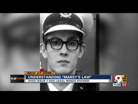ACLU objects to Issue 1 (Marsy's Law)