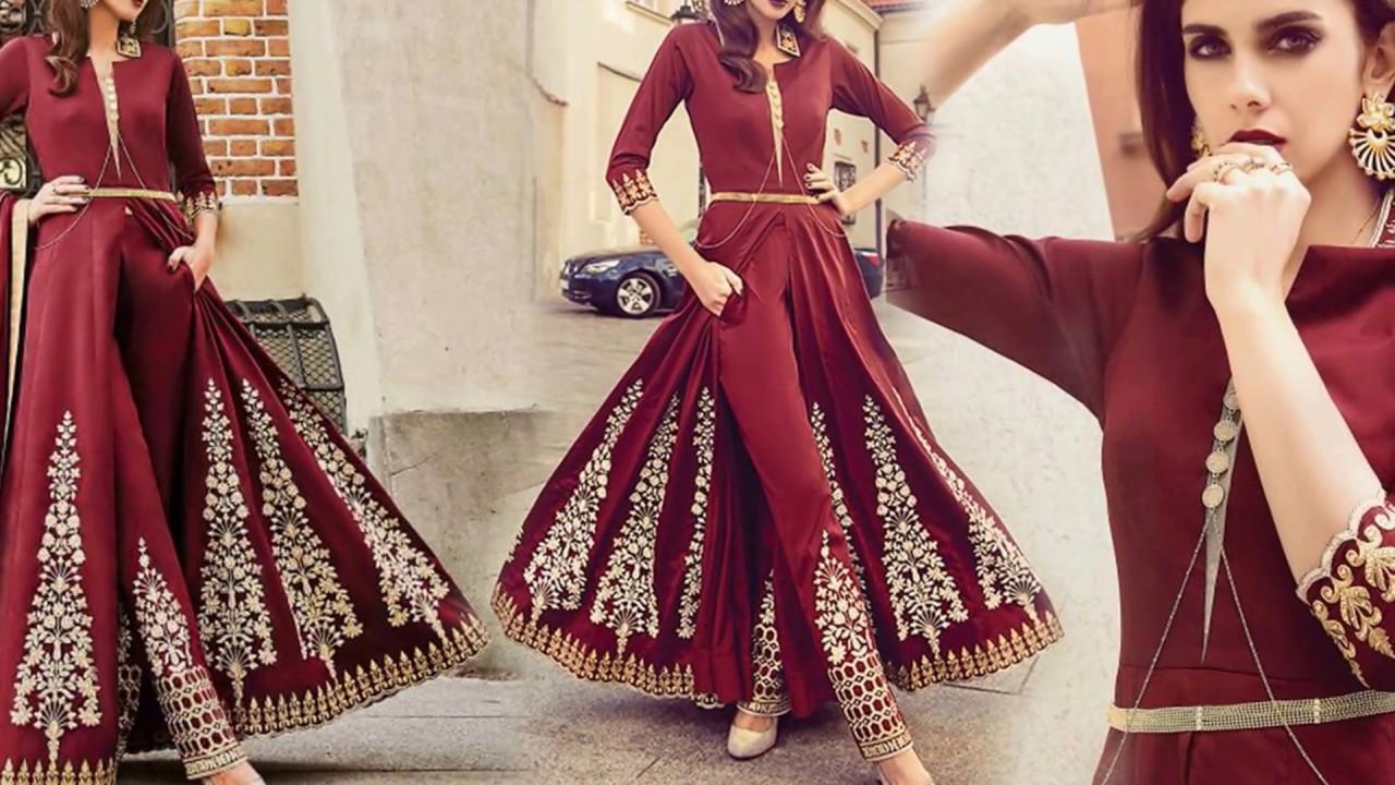 Latest Designer Dresses Designs: Indo Western Style