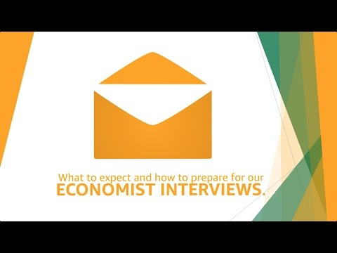 How to Prepare for Your Economist Interview at Amazon