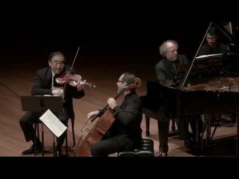 Brahms: Trio in C Major for Piano, Violin, and Cello, Op. 87, II. Andante con moto