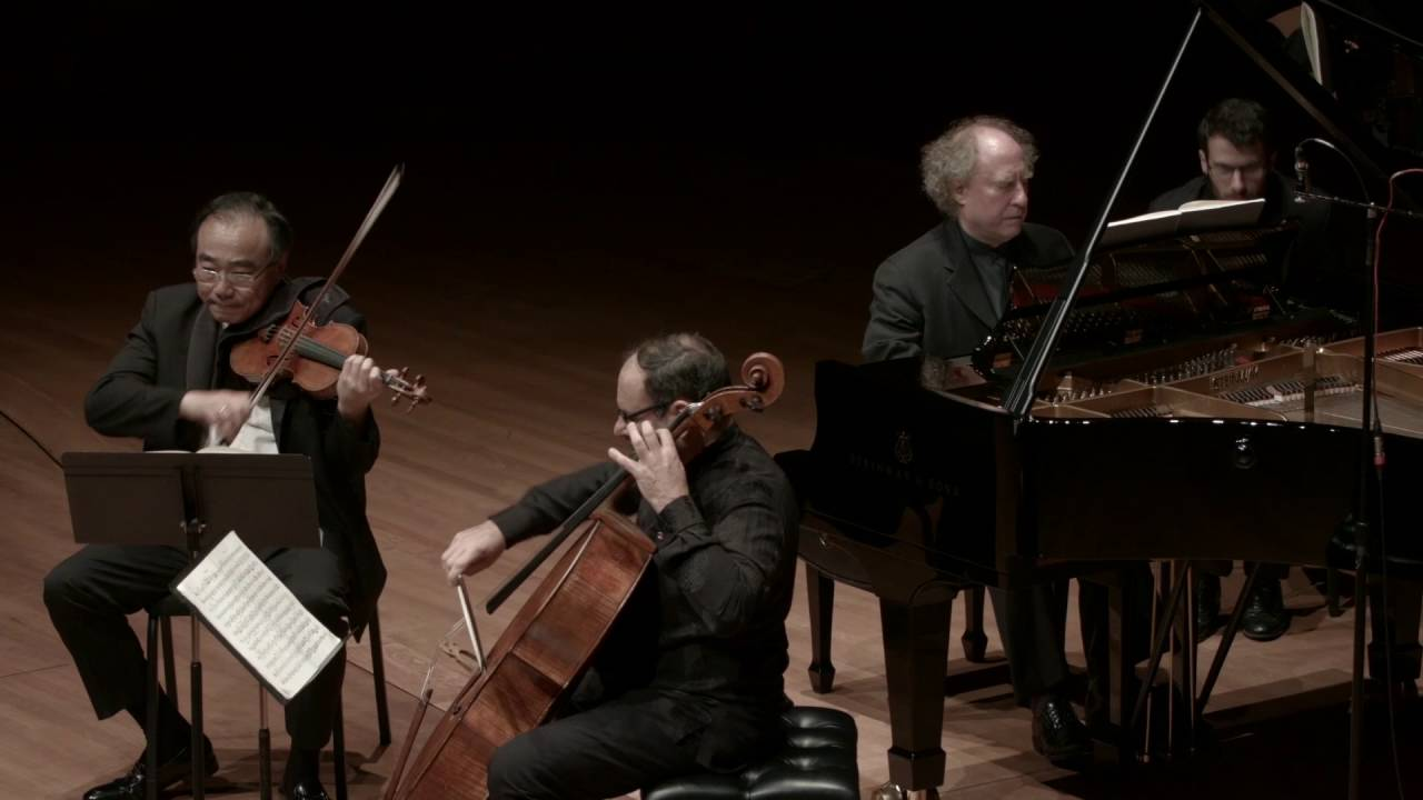 Brahms Trio in C Major for Piano, Violin, and Cello, Op. 87, II. Andante con moto