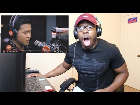 Marcelito Pomoy sings The Prayer Celine Dion Andrea Bocelli LIVE on Wish 107 5 Reaction! IM CRYING!!