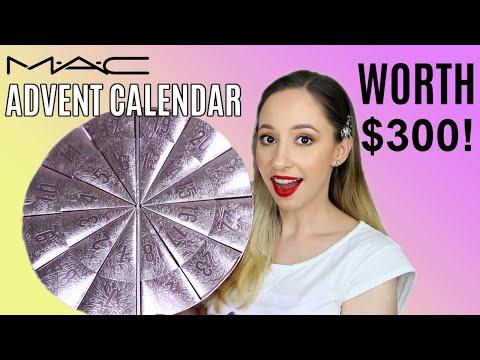 Mac Beauty Advent Calendar 2020 - Worth Over $300!   Vasilikis Beauty Tips