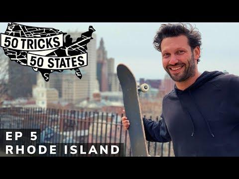 50 Tricks 50 States Skateboarding Challenge | Episode #5 | Rhode Island