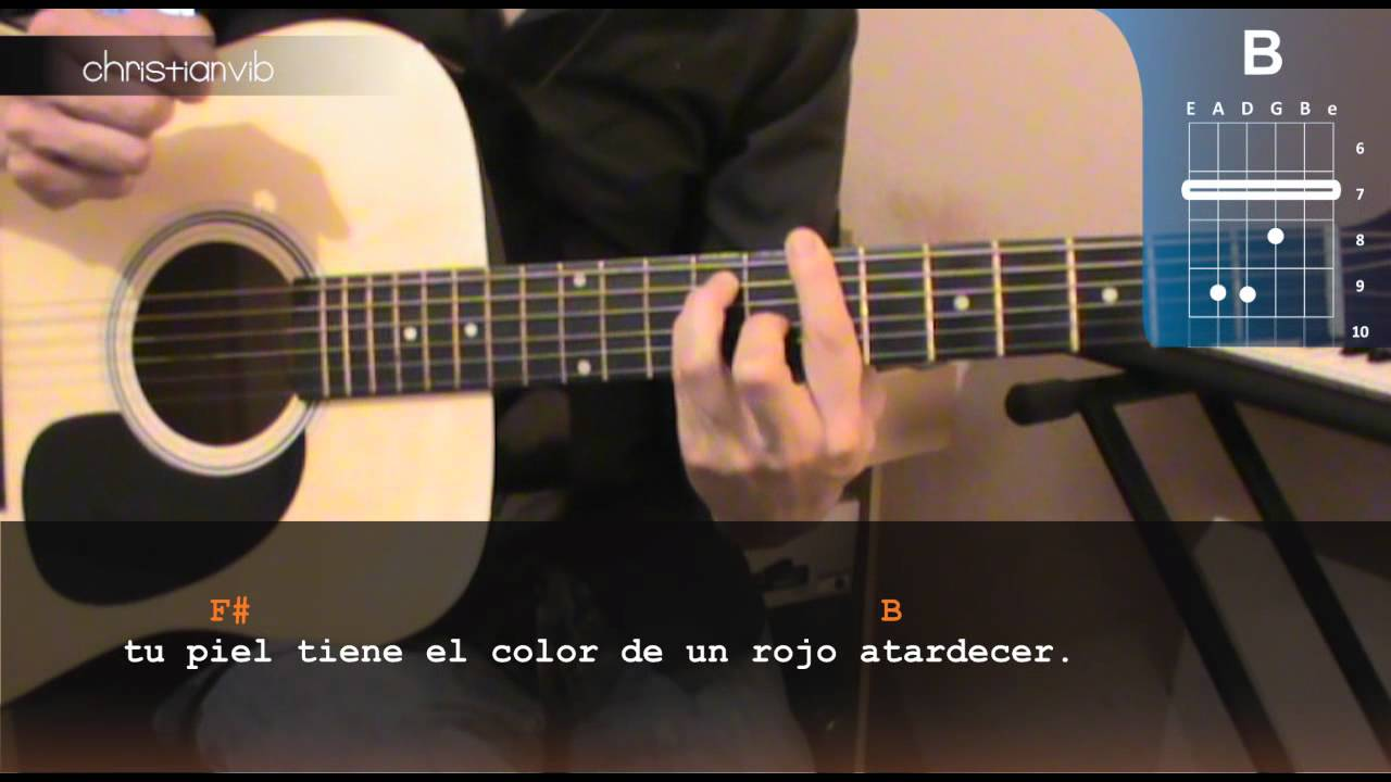"""... Cómo tocar """"Es Por Ti"""" de Juanes en Guitarra Acústica (HD) Tutorial"""