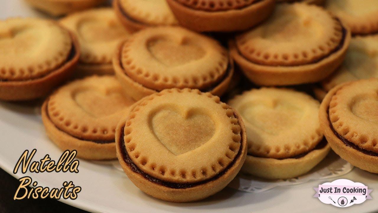 Recette Des Nutella Biscuits Maison Youtube