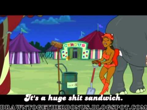 """Drawn Together """"Shit Sandwich"""" The One Wherein There is a Big Twist: Part 2"""