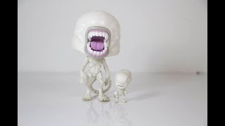 Funko Pop Alien Covenant: NEOMORPH WITH TODDLER review