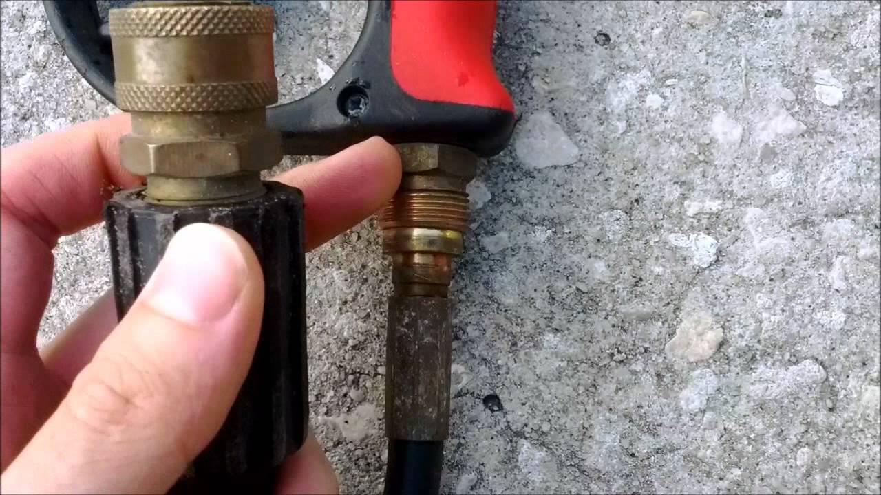 Removing Old Washer Hoses