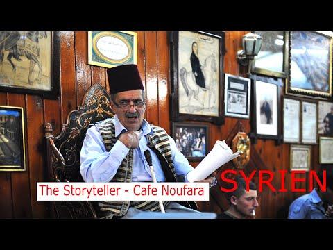 Syria  Damascus - Cafe Noufara - The storyteller - Märchenerzähler