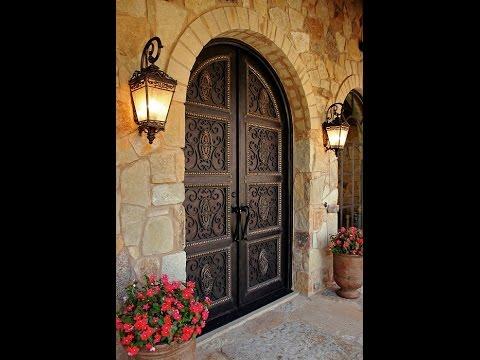Puertas principales youtube for Puertas principales de madera rusticas