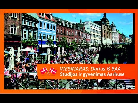 Webinaras: Business Academy Aarhus. Smagiausias Danijos miestas