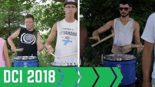 Bluecoats 2018 Drumline: Flam Jam