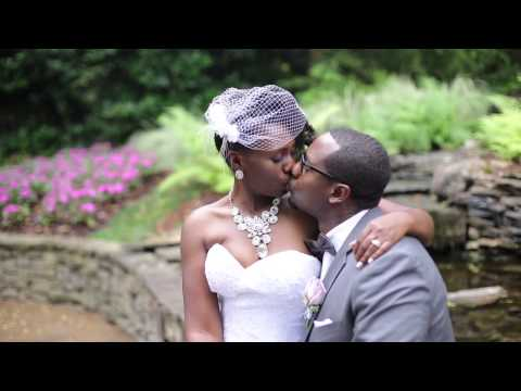 Birmingham Botanical Gardens wedding by Invision Events