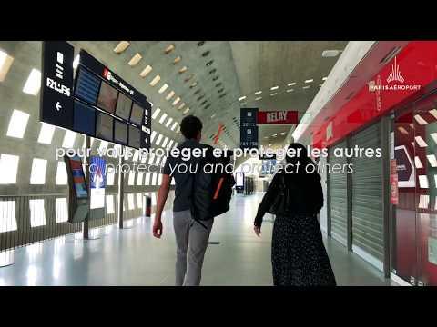 Votre parcours arrivée à Paris en toute sécurité / Your trip to Paris in complete safety