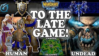 Grubby | Warcraft 3 TFT | 1.30 | HU v UD on Twisted Meadows - To The Late Game!